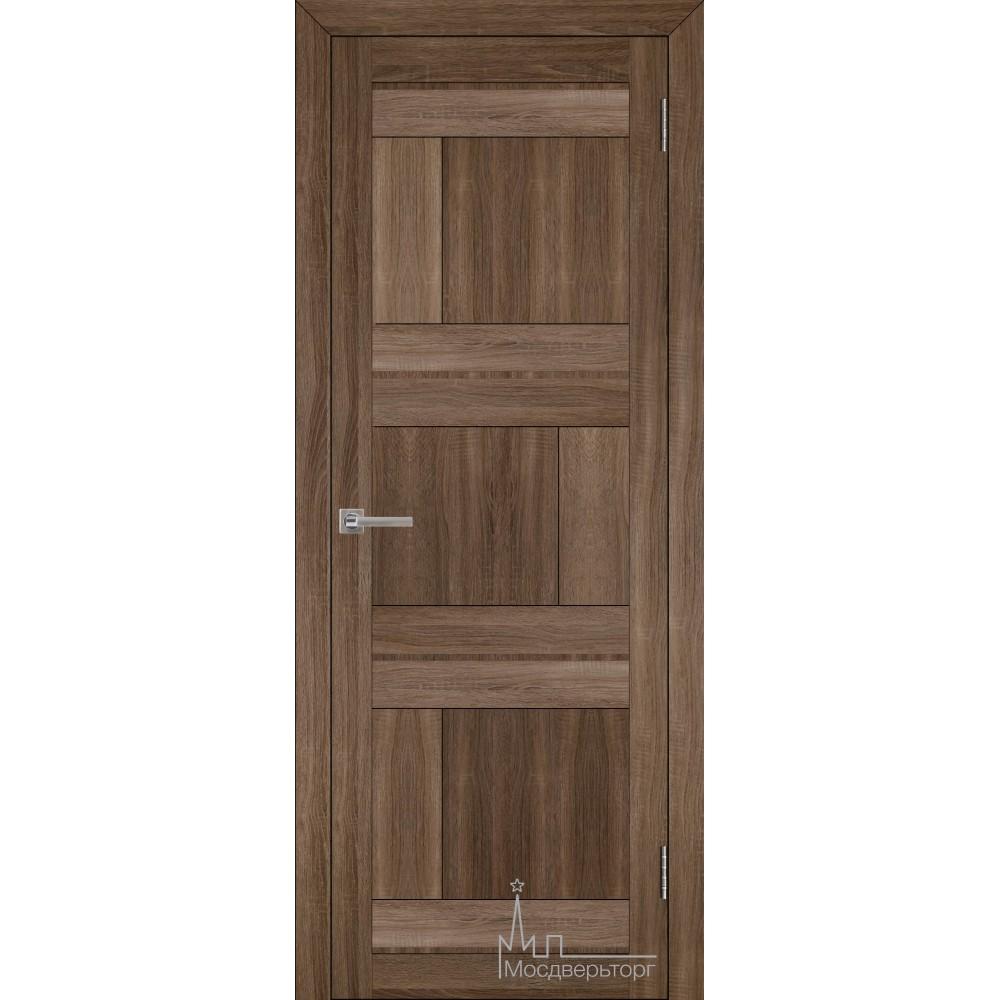 Межкомнатная дверь Экошпон 2180 серый велюр