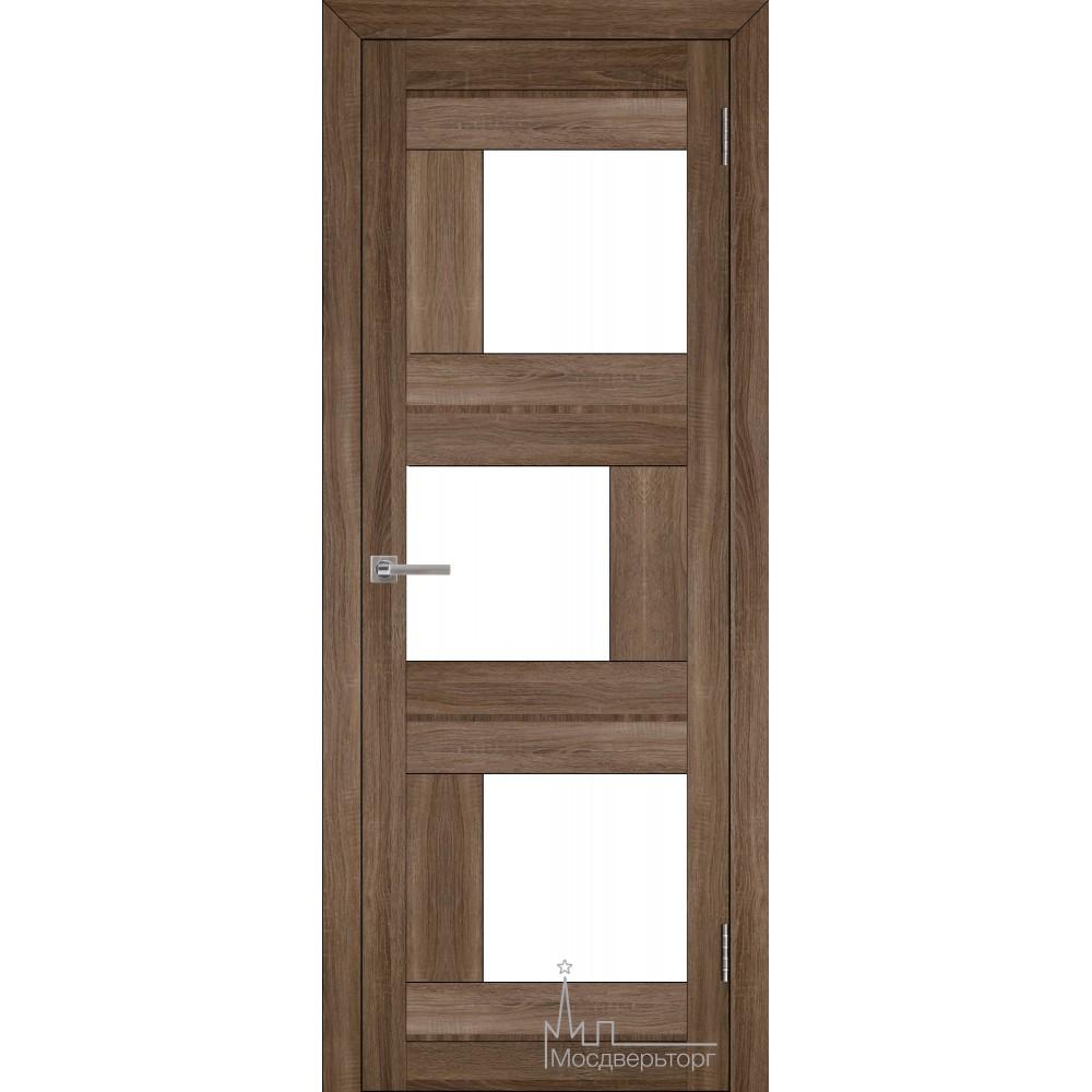 Межкомнатная дверь Экошпон 2181 серый велюр
