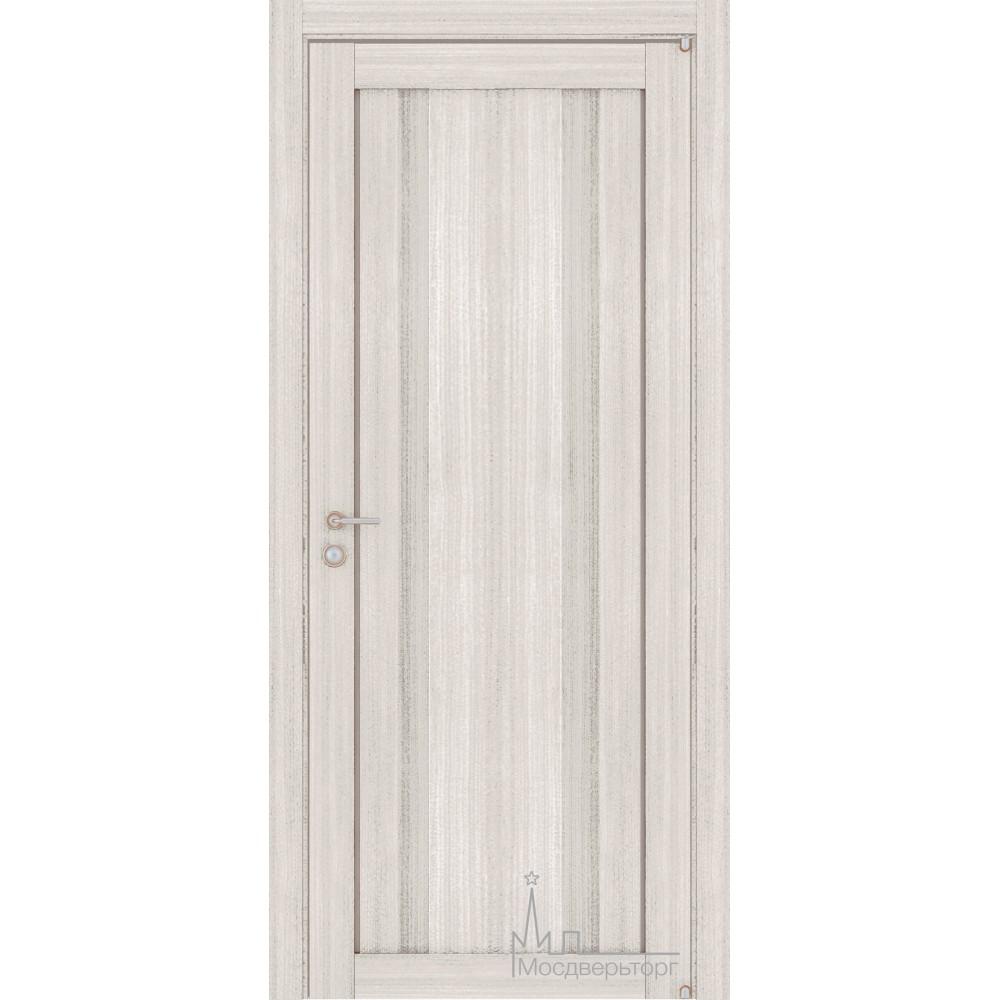 Межкомнатная дверь Экошпон 2190 капучино велюр