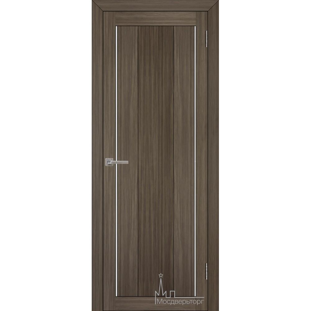 Межкомнатная дверь Экошпон 2190 велюр графит