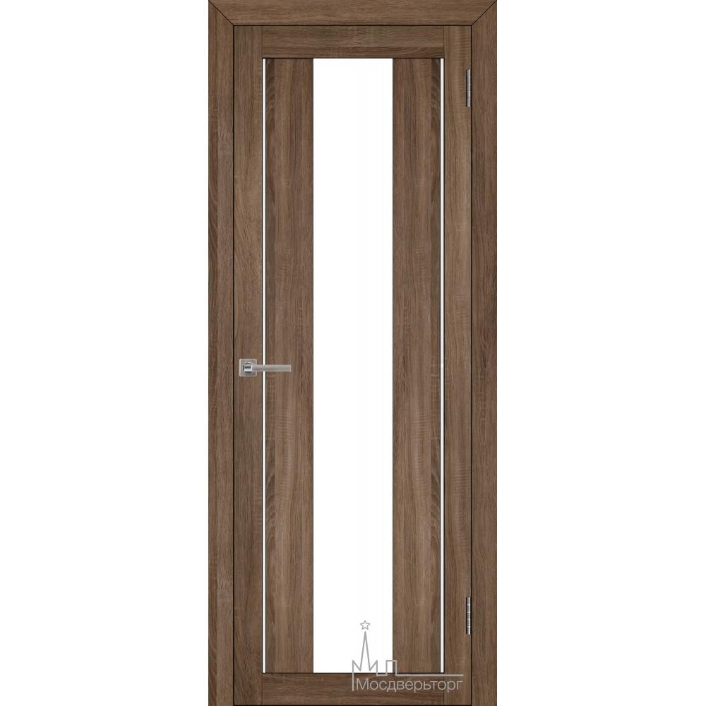 Межкомнатная дверь Экошпон 2191 серый велюр