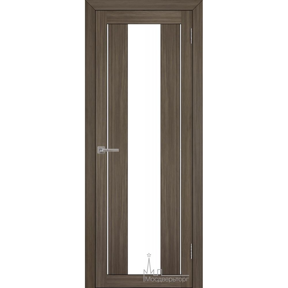 Межкомнатная дверь Экошпон 2191 велюр графит