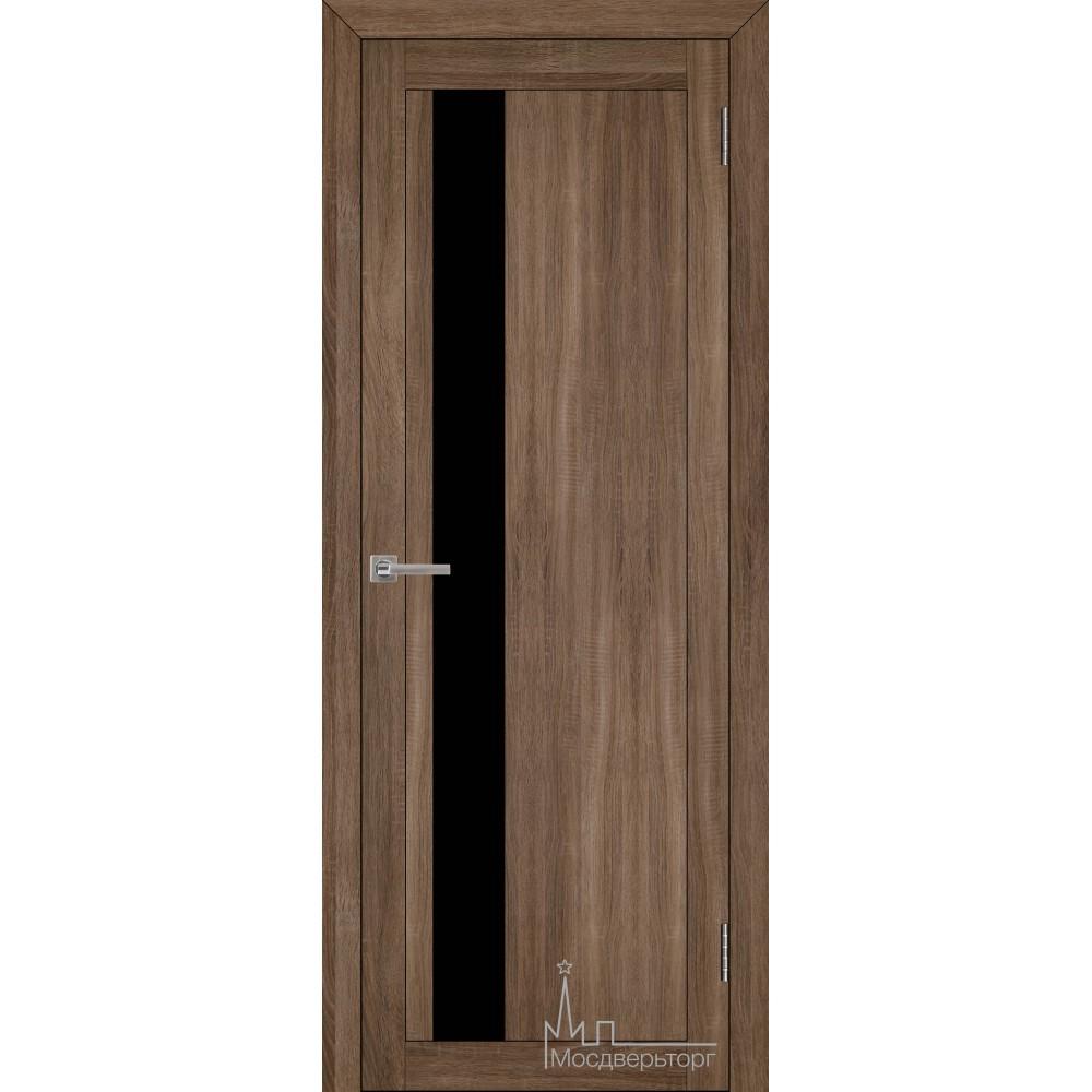 Межкомнатная дверь Экошпон 30004 серый велюр