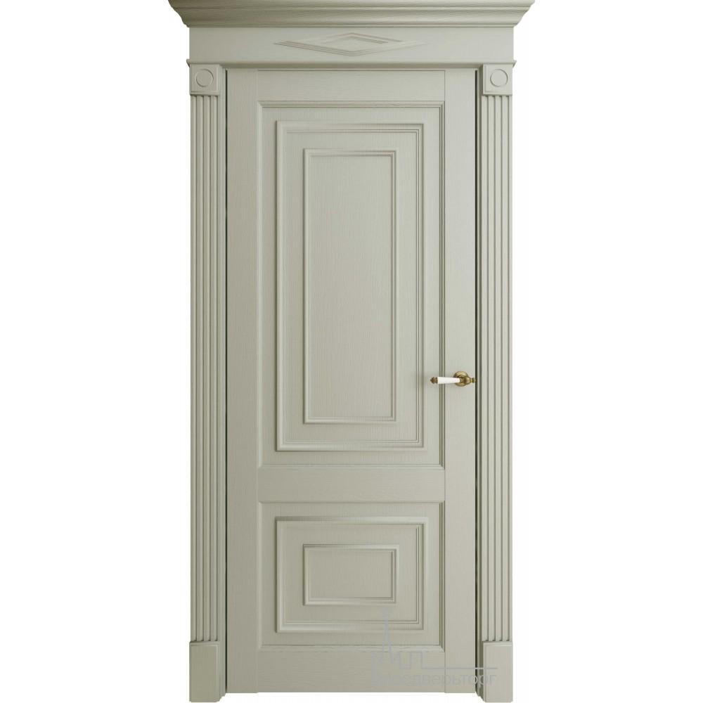 Межкомнатная дверь Экошпон 62002 серая глухая