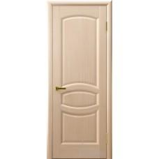 Межкомнатная дверь Анастасия беленый дуб глухая