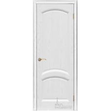 Межкомнатная дверь Лаура ясень жемчуг глухая