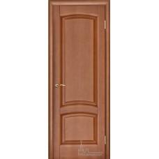 Межкомнатная дверь Лаура тёмный анегри тон 74, глухая