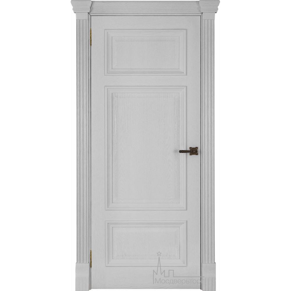 Межкомнатная дверь Мадрид, дуб Perla глухая