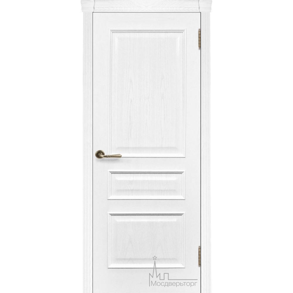 Межкомнатная дверь Милан  ясень жемчуг, глухая