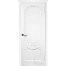 Межкомнатная дверь Монако ясень жемчуг, глухая