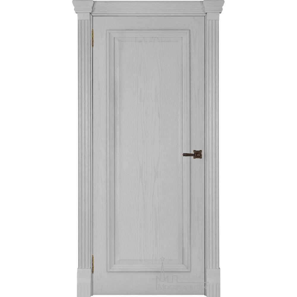 Межкомнатная дверь Тоскано,  дуб Perla глухая