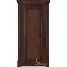 Межкомнатная дверь Тоскано, дуб Brandy глухая