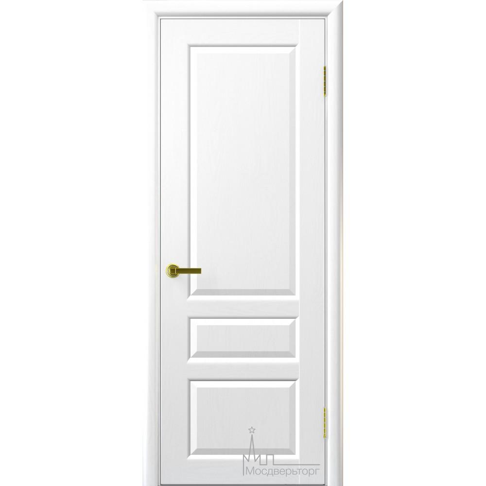 Межкомнатная дверь Валенсия-2 ясень жемчуг глухая