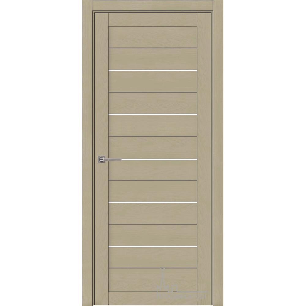 Межкомнатная дверь экошпон 2127 Кремовый (софт)