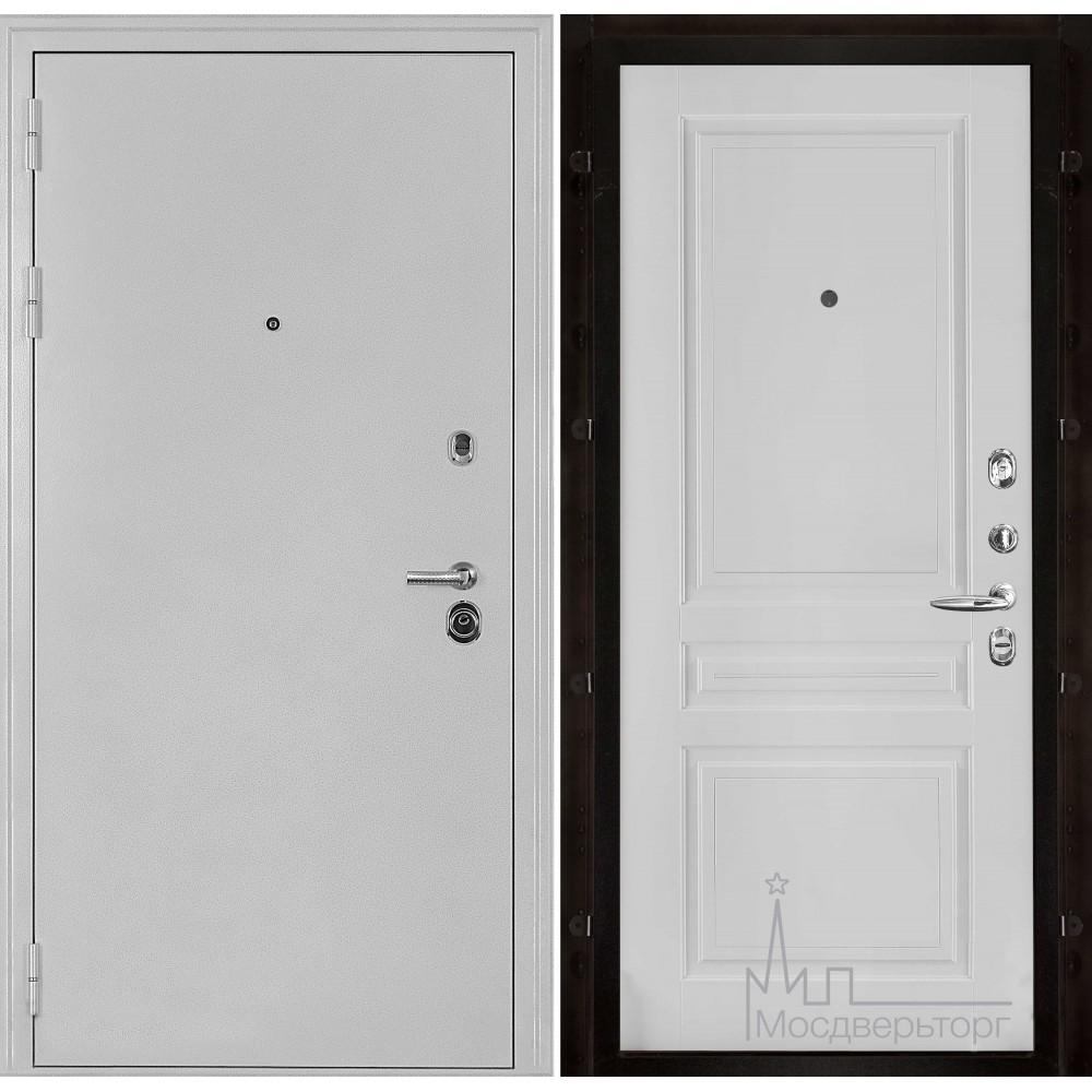 Колизей белое серебро панель Турин эмаль белая