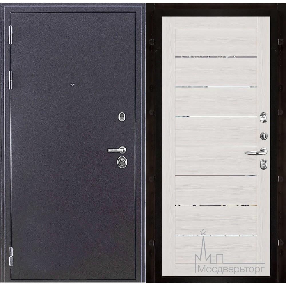 Колизей темное серебро панель 2125 Капучино велюр с зеркальными вставками