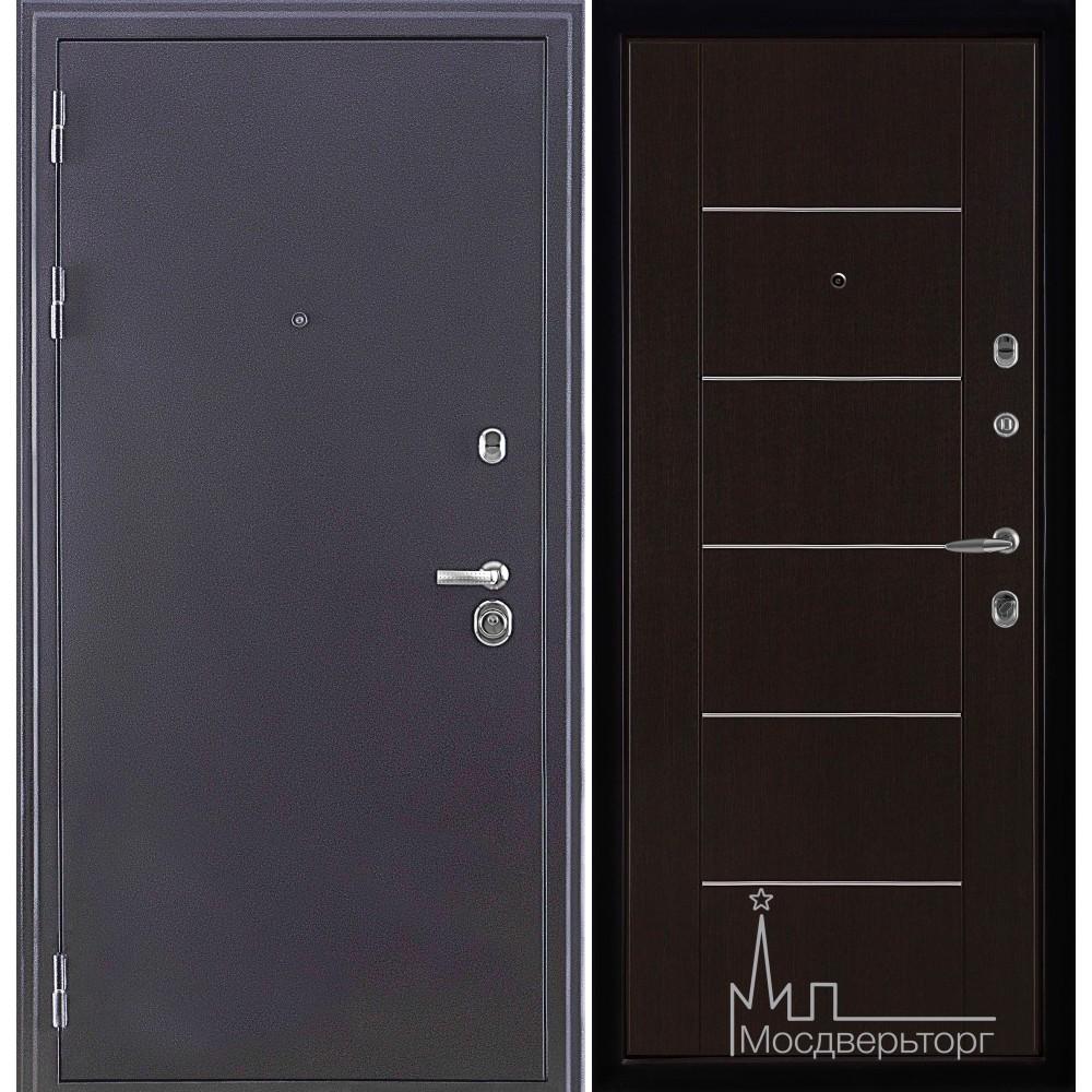 Колизей темное серебро панель Лайт МD - 003  Венге