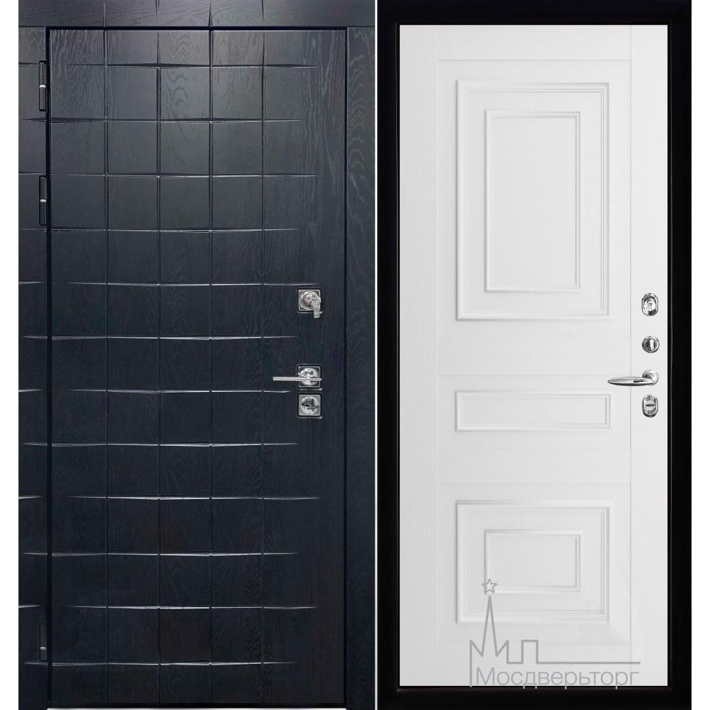 Входная дверь Сенатор плюс панель 62001 серена белый