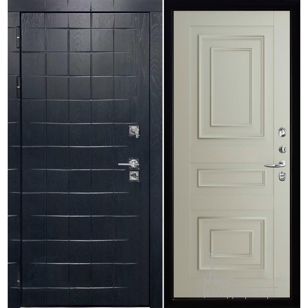 Входная дверь Сенатор плюс панель 62001 светло серый