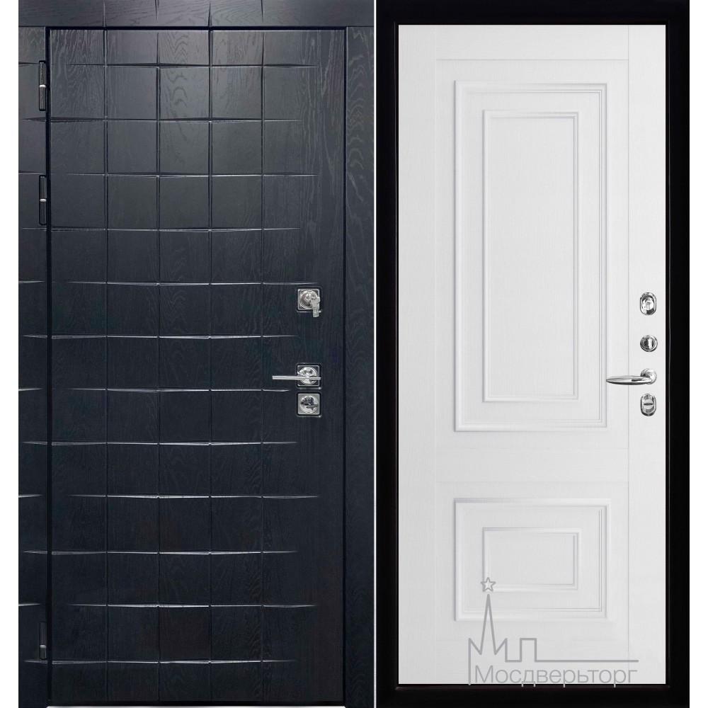 Входная дверь Сенатор плюс панель 62002 серена белый