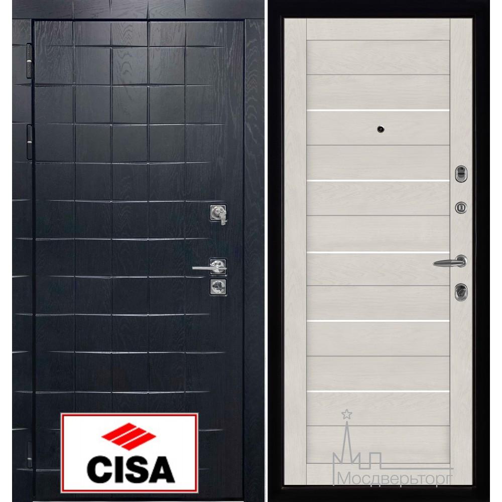 """Сенатор плюс, панель 2127 софт бьянка с замком """"Cisa"""""""