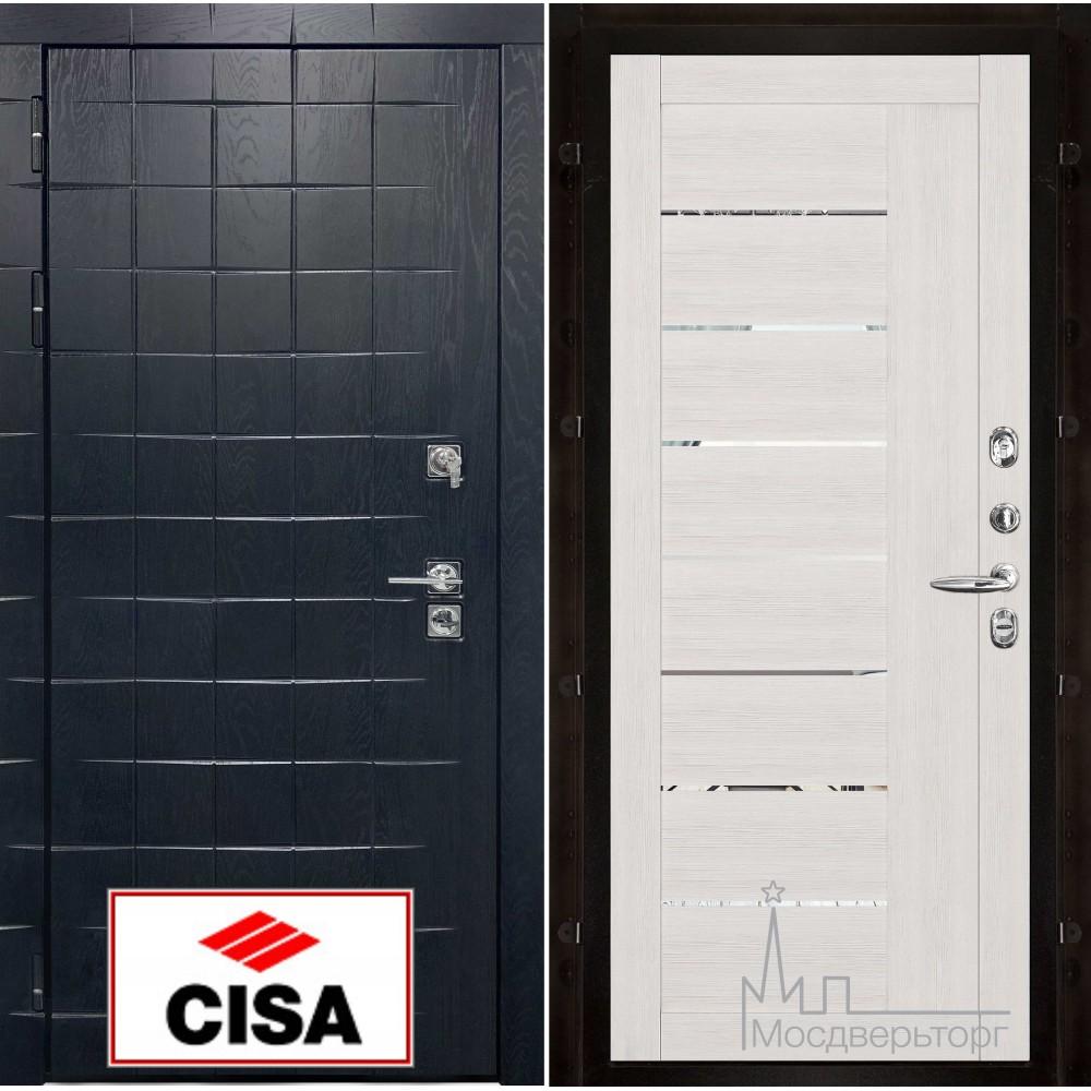 """Сенатор плюс, панель 2110 капучино велюр с замком """"Cisa"""""""