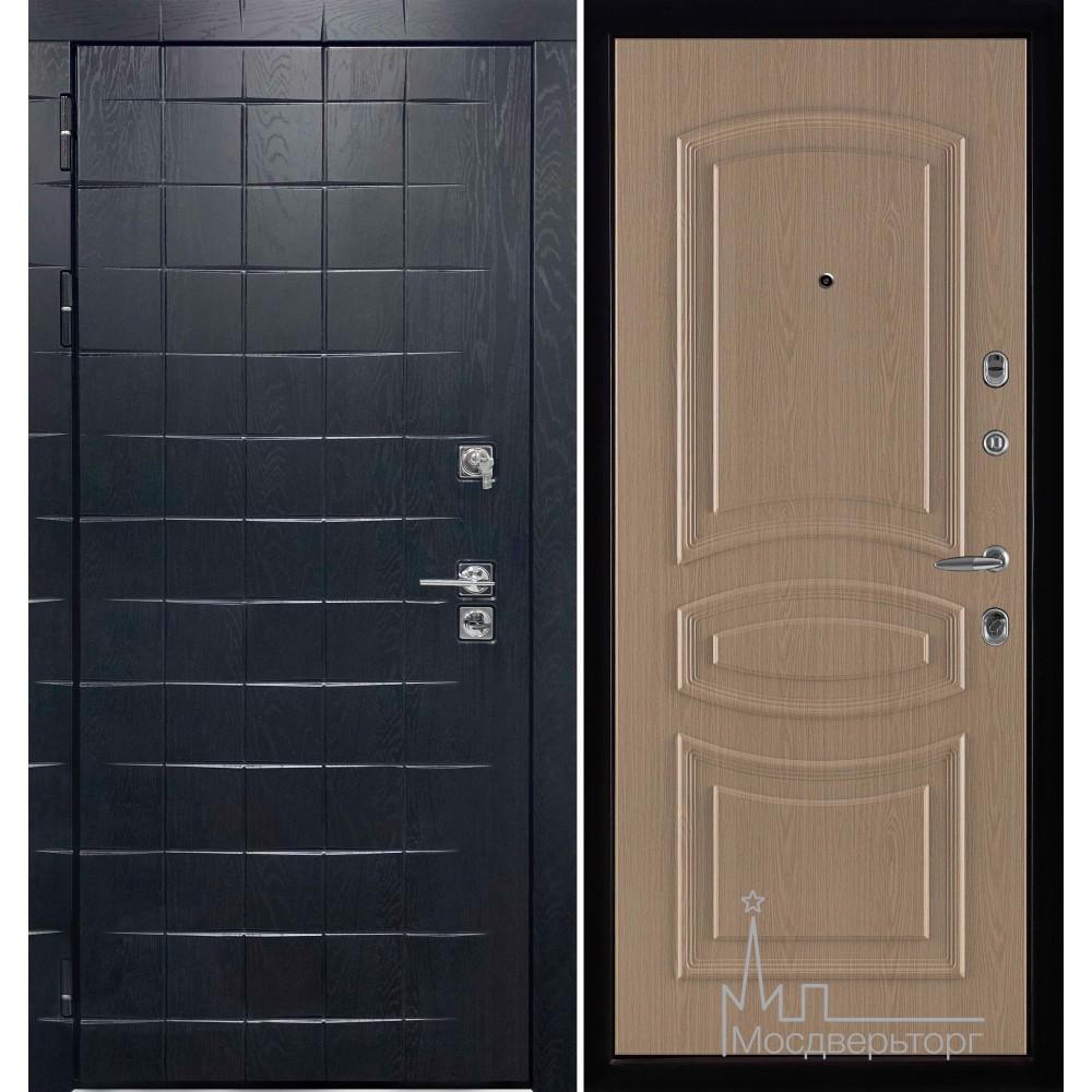 Входная дверь Сенатор плюс, панель Анастасия белёный дуб