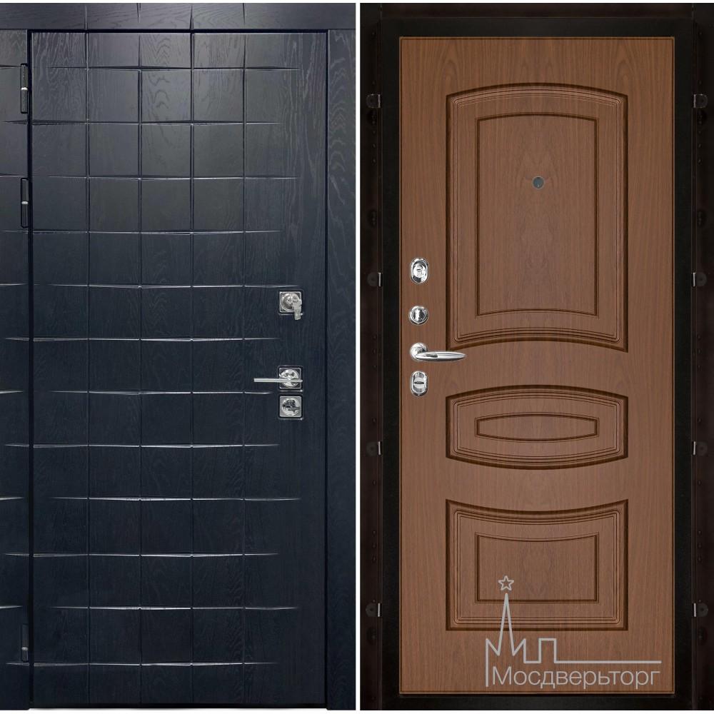 Входная дверь Сенатор плюс, панель Анастасия темный орех