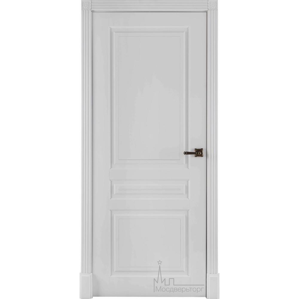 Межкомнатная дверь Турин эмаль белая (глухая)
