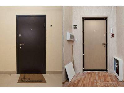Недорогая входная дверь