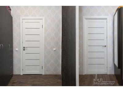 Межкомнатные двери белого цвета